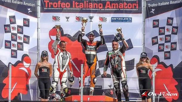 6° Round: Capelli, Terziani e Para già campioni 2015