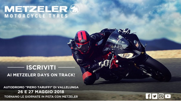 METZELER DAYS ON TRACK!