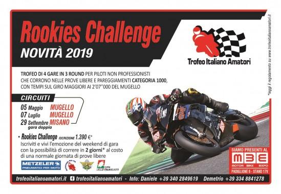 Rookies Challenge e Trofeo Italiano Amatori…iscrizioni aperte