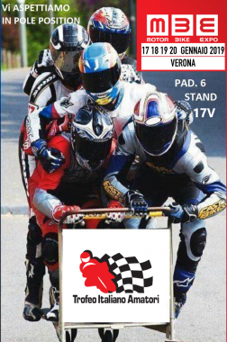 Motor Bike Expo – Verona 2019 – PAD.6 – STAND 17V