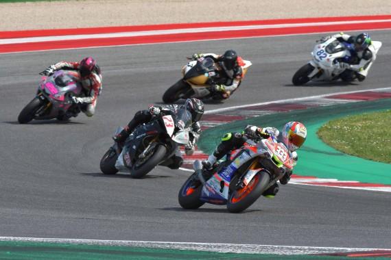 """Misano World Circuit """"Marco Simoncelli, 6 – 7 Aprile 2019,  1° round"""
