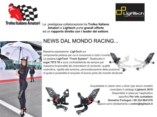 News dal mondo Racing