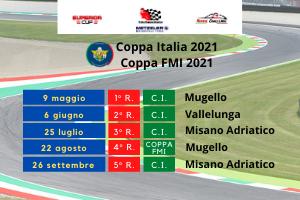 NUOVO CALENDARIO TROFEO ITALIANO AMATORI 2021