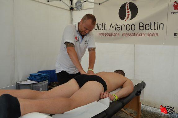 Marco Bettin, il nostro fisioterapista … in pista, anche a Misano